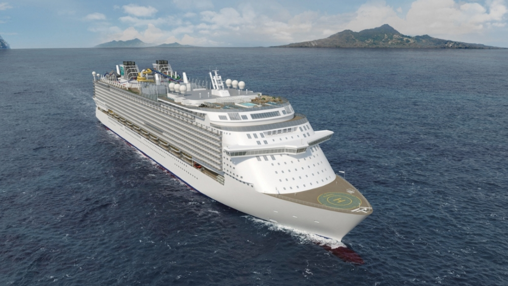 Germany: Largest Cruise Ship Ever Under Construction – The Berlin