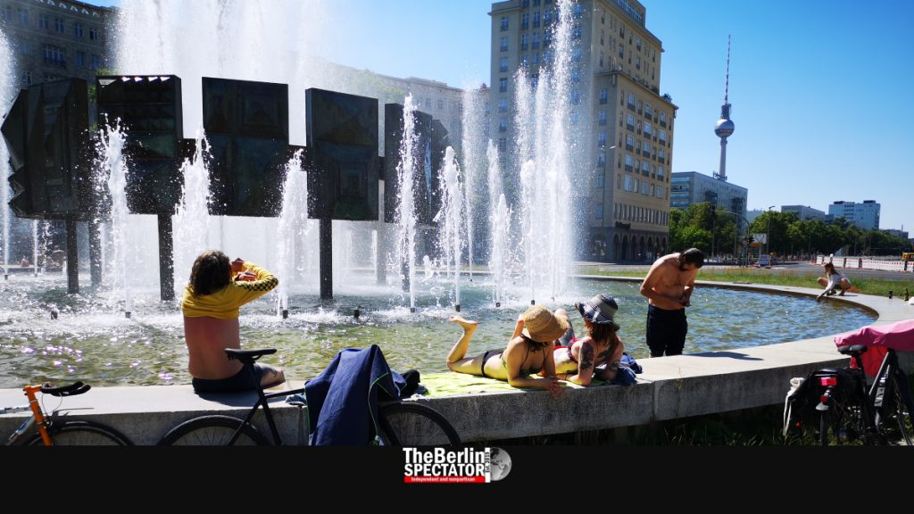 Warm Drinks and No Air Conditioning: Germans in Heatwaves