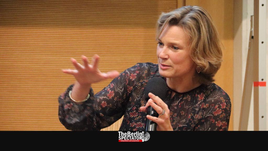 Katharina von Schurbein is taking part in a panel discussion in Berlin.