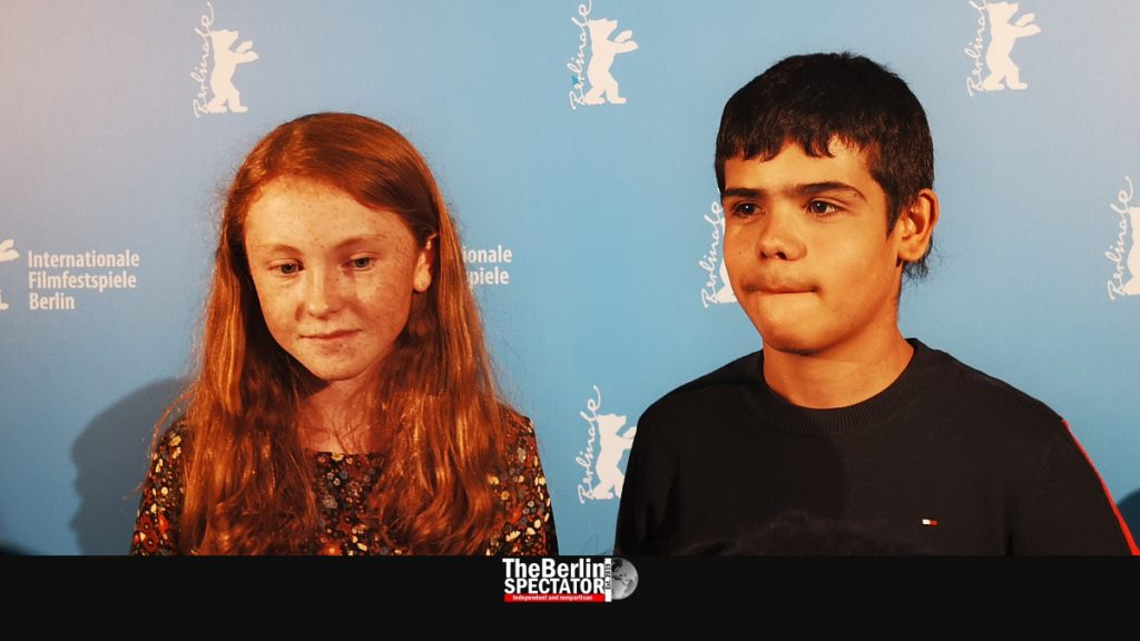 The Australian actors Daisy Axon and Wesley Patton appeared at the Berlinale.