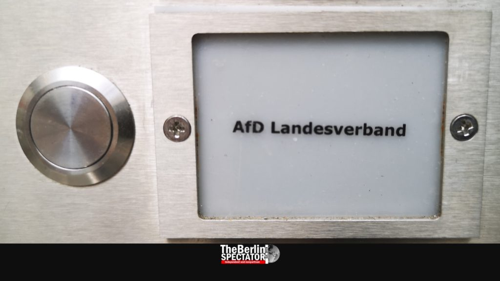 Germany: Extremist AfD to be Observed by Office for Protection of Constitution