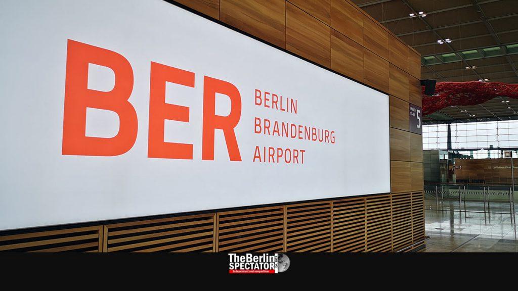 New Berlin-Brandenburg Airport 'BER' Undergoes Security Search