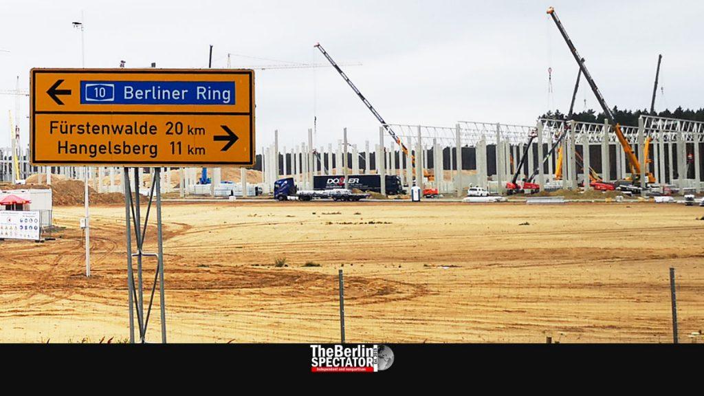 Brandenburg: Tesla Factory Construction Advances Extremely Quickly