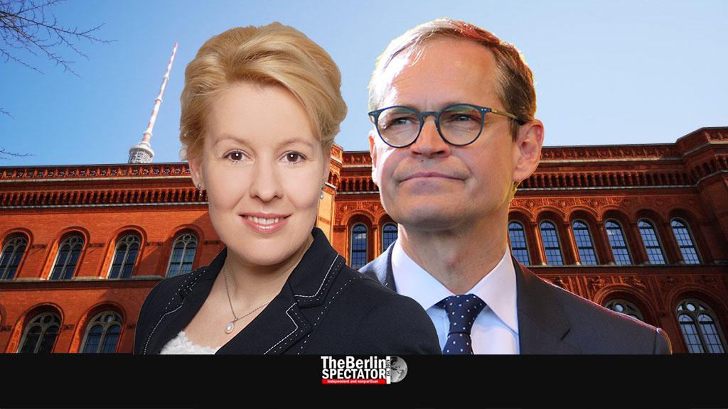 Berlin's SPD Disposes of Michael Müller, Elects Franziska Giffey