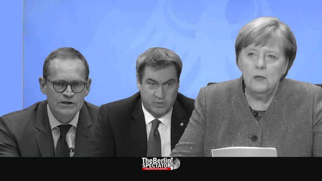 Germany: Merkel Announces Corona Rules for December