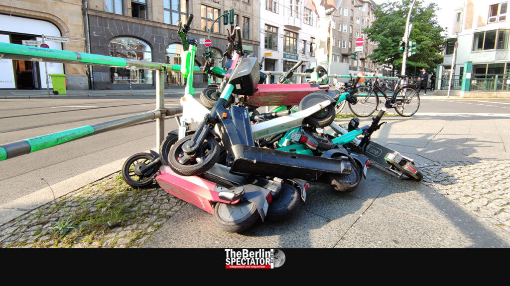 Berlin Attempts to Clean Up Chaos Caused by Rental Vehicles