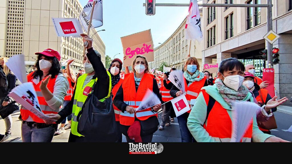 Berlin: Strike at Charité and Vivantes Hospitals Continues