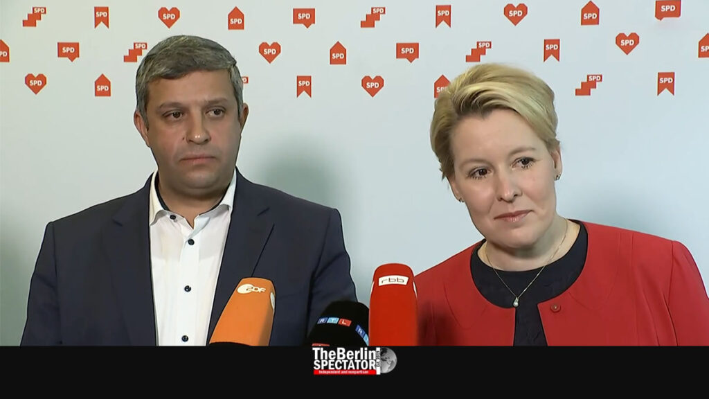 Berlin: Franziska Giffey Wants Coalition with Greens and 'Die Linke'