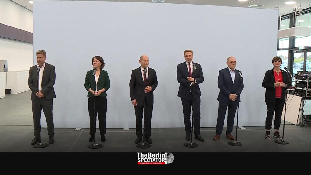 Germany: Three Parties Take Next Step Towards 'Traffic Light Coalition'